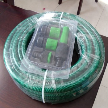 Customized production of various colors and specifications PVC garden hose with connectors