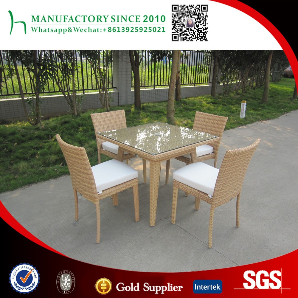 Outdoor patio aluminum furniture dining sets for sale