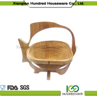 buy high performance wholesale from China Apple shape bamboo basket
