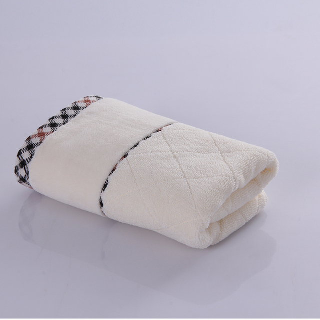 High quality custom 100% cotton soft face airline towel