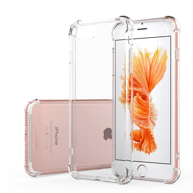 For iPhone 6s Case,For iPhone 5s Case Clear Transparent Phone Case TPU Cell Phone Mobile Phone Soft Cover For iPhone 6 6s 5
