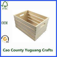 alibaba cheap wooden crates pine wood book crates unfinished
