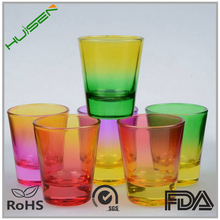 Different Process High Quality Glow Shot Glass With Cheap Price