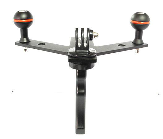 Underwater diving camera photography ball mount tray 3.3 YS arm