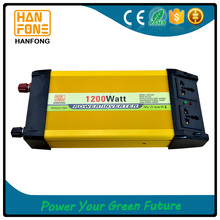 High efficiency 1200w tbe power inverter,12v dc/ac inverter