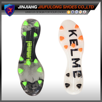 New Design Custom Cheap TPU Soccer Shoes Outsoles Men Sports Shoe Soles Spike Outsole