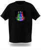 customize your style sound activated or wifi lighting up el/led t-shirt Manufacturer