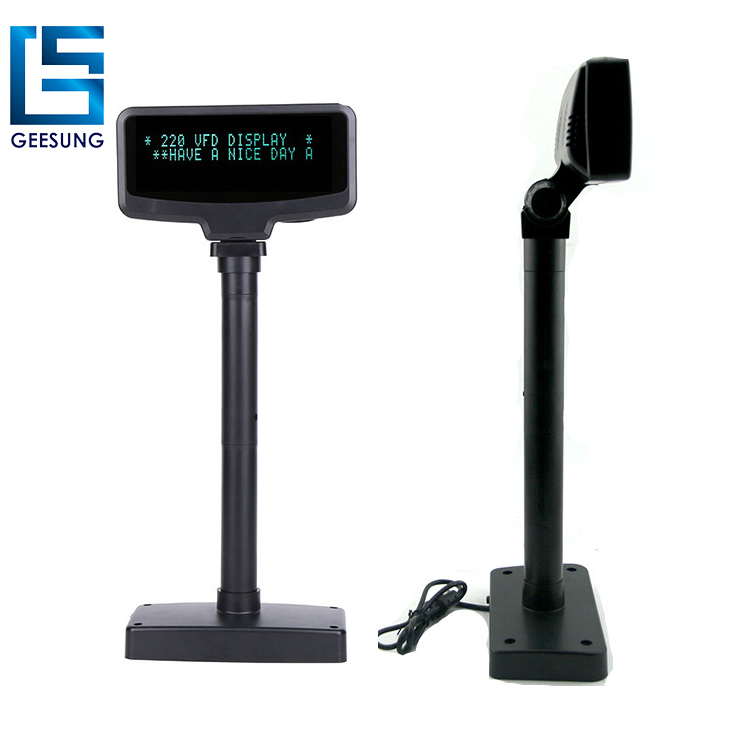 Two lines pos vfd customer display for sale