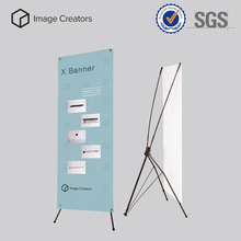 windproof advertising x banner stands