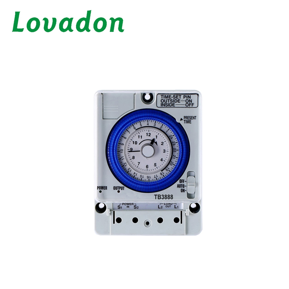 Hot Selling of Tb3888 Mechanical Timer Switch 24h Timer