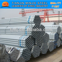 scaffold galvanize pipe 6 meter from Asia China popular used in greenhouse &civil construction