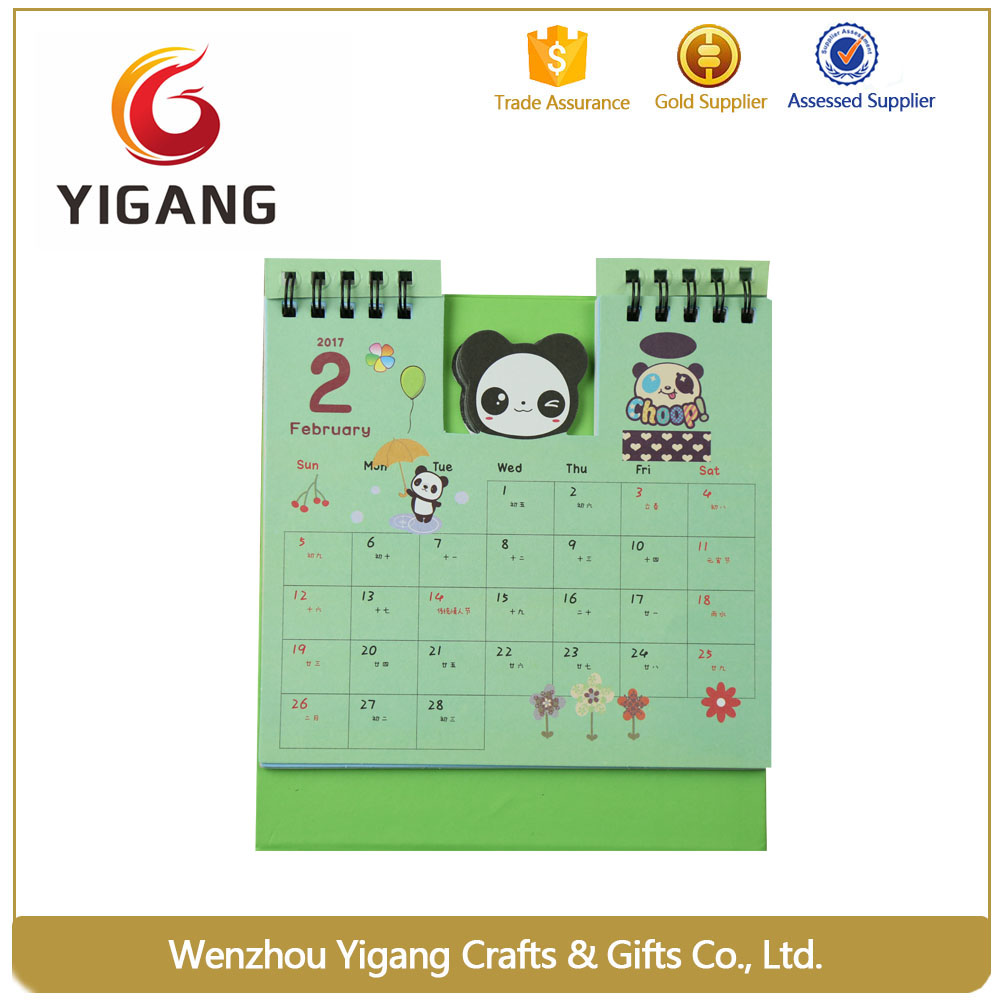 Latest products Desk daily calendar from alibaba premium market
