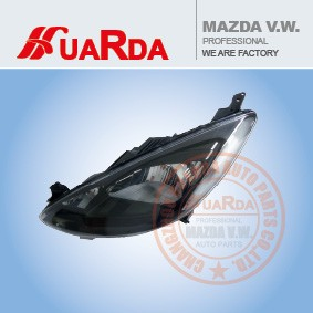 high power automotive led head light /MAZDA 2 head lamp suppliers