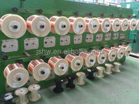 Round bare CCA Wire with Low price for cable braiding and conductor