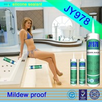 Professional manufacturer JY978 anti-fungal anti-mildew rtv sealant neutral sanitaryware silicone sealant
