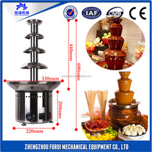 Best choice Double chocolate fondue fountain/chocolate fountain 7 tiers with low price