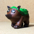 Custom made christmas child gift 3-inch pvc animal shape vinyl toy in factory price