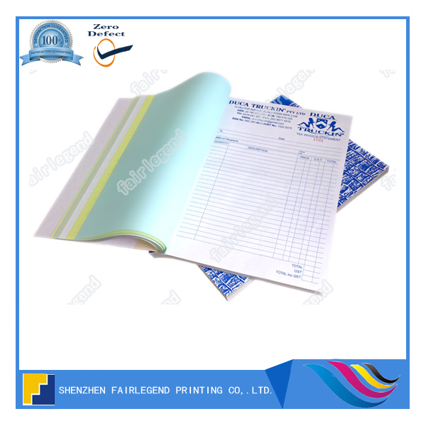 A4 Invoice Forms Continuous Printing Carbonless Paper