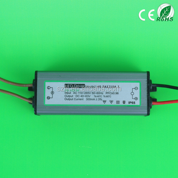 High Efficiency 18W LED Power Driver 300mA