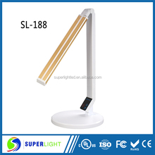 2015 new products led light dimmable and usb port style student table lamp