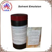 Solvent Emulsion 950g + 4g / set screen printing material make platen DM-1