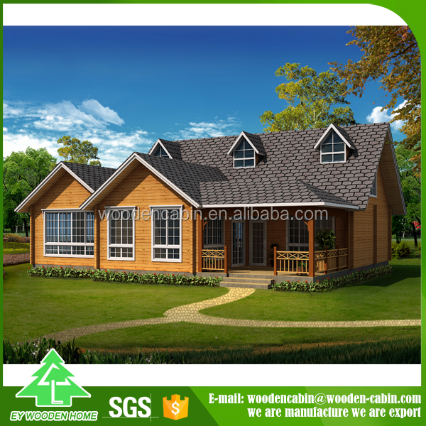 Manufacturer directly supply Modern high grade prefabricated wooden cottage