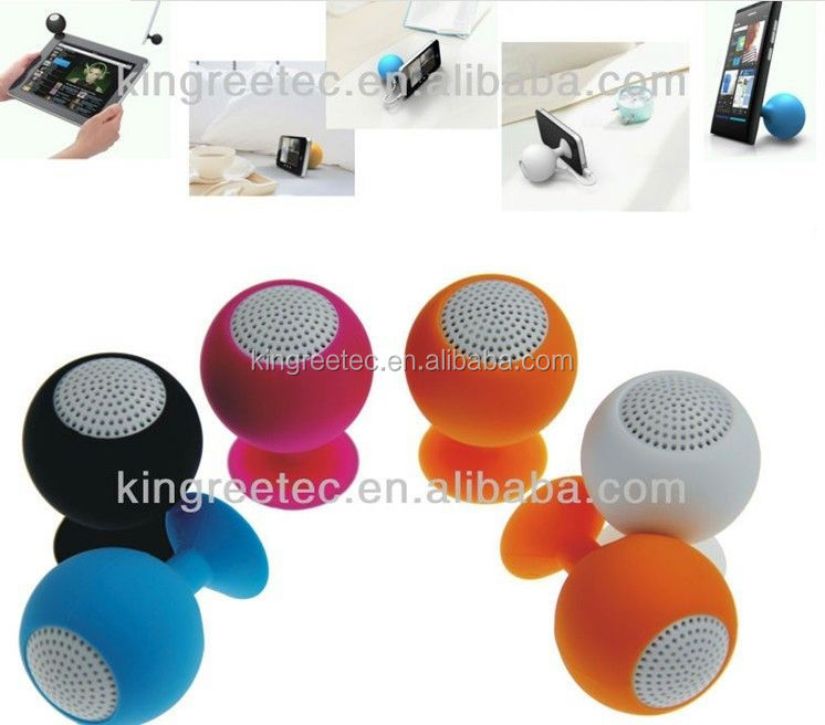 wholesale motorbike horn silicone portable speaker from China factory