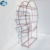 New design stainless steel tempered glass wine display rack