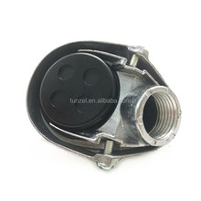 Electrical conduit fitting aluminum threaded 1 service entrance cap