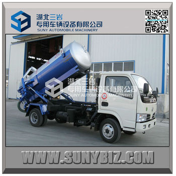 3cbm 4cbm tank truck small diesel truck sewage vacuum pump truck view sewage vacuum truck. Black Bedroom Furniture Sets. Home Design Ideas