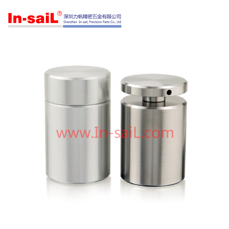 2016 China supplier global OEM service stainless steel glass spacer manufacturer for table