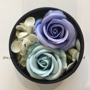 craft rose decoration bath paper soap flower crystal birthday wedding gift flowers bouquets