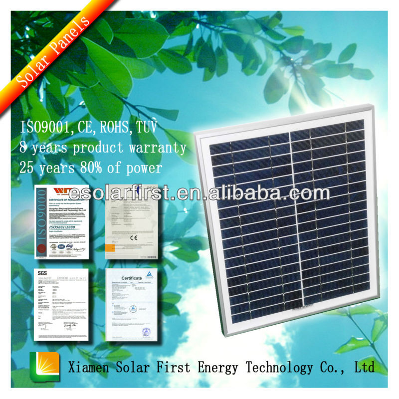 low price 270W Chinese Polycrystalline Solar Panels With Hight Quality