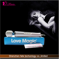 Waterproof electric ABS silicone adult sex product vibrator