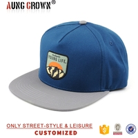 Wholesale make your own print pattern custom 5 panel hats