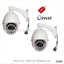 High speed dome 360 degree outdoor camera, 1080p hd digital camera with p2p and onvif