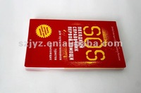 wholesale pvc book printing service from china suppier
