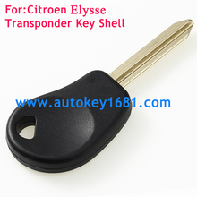 New Transponder Key Shell For Citroen Xsara C5 C6 Berlingo with Uncut Blade SX9T