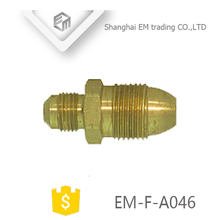 EM-F-A046 Thread quick connector copper pipe brass fitting plug