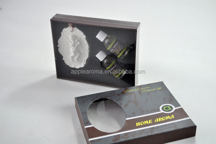 Home Decoration Ceramic Gift Set/ Car Air Freshener/ Fragrance Oil