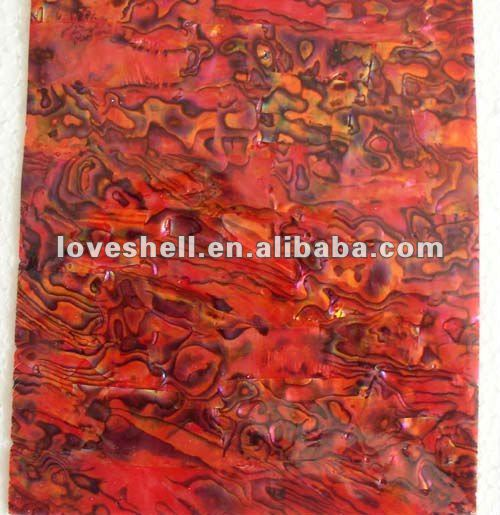 abalone shell sheets(Red)