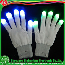 Led Safety Gloves For Night Time Riding Factoty