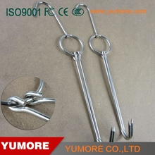 Various designs healthy stainless steel meat hooks for butchering