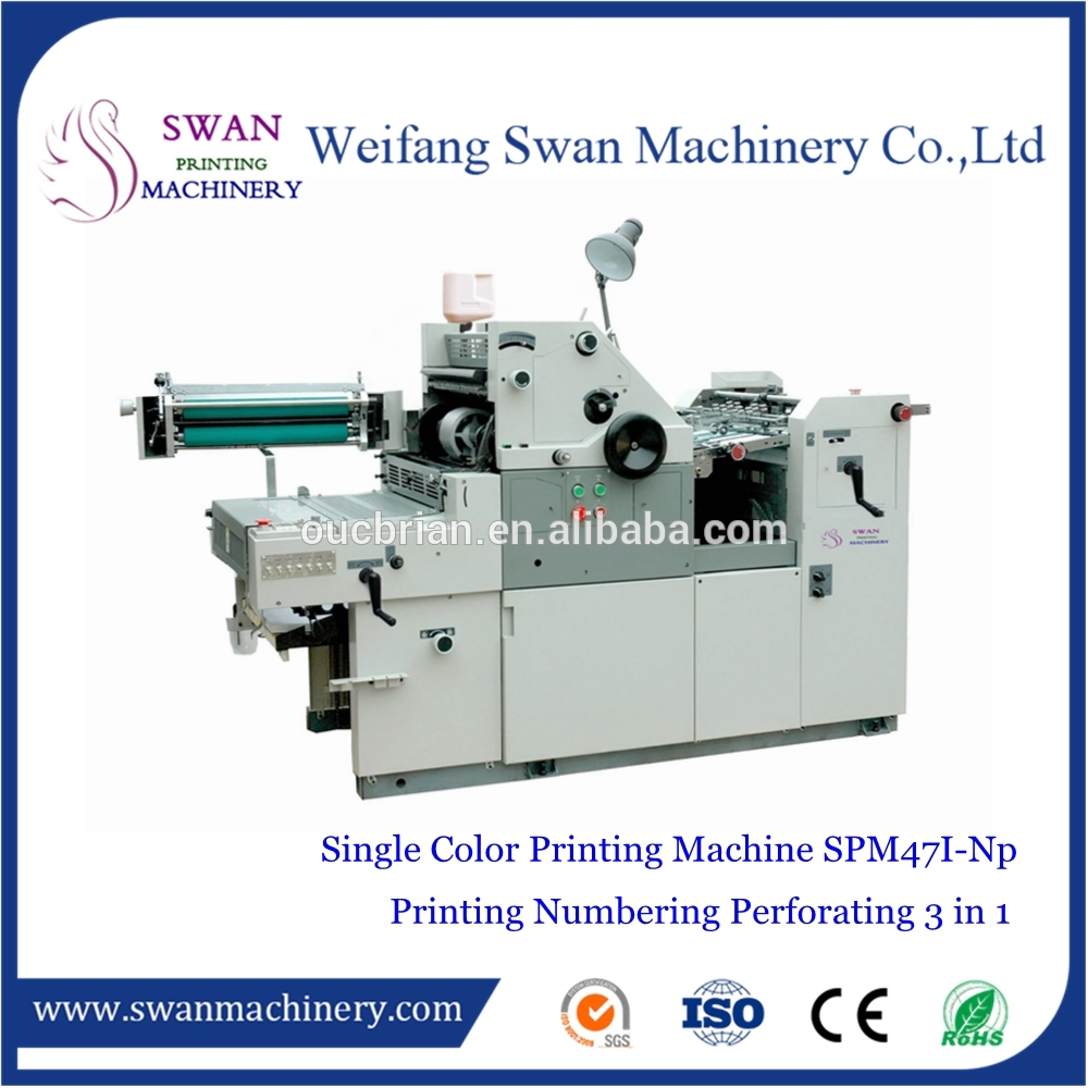 Manufacture 4 color solna offset printing machine for home use
