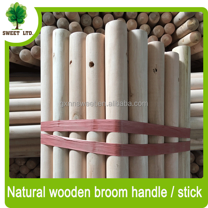 Hot sales well straight shovel handles / natural wood mop handle with hole