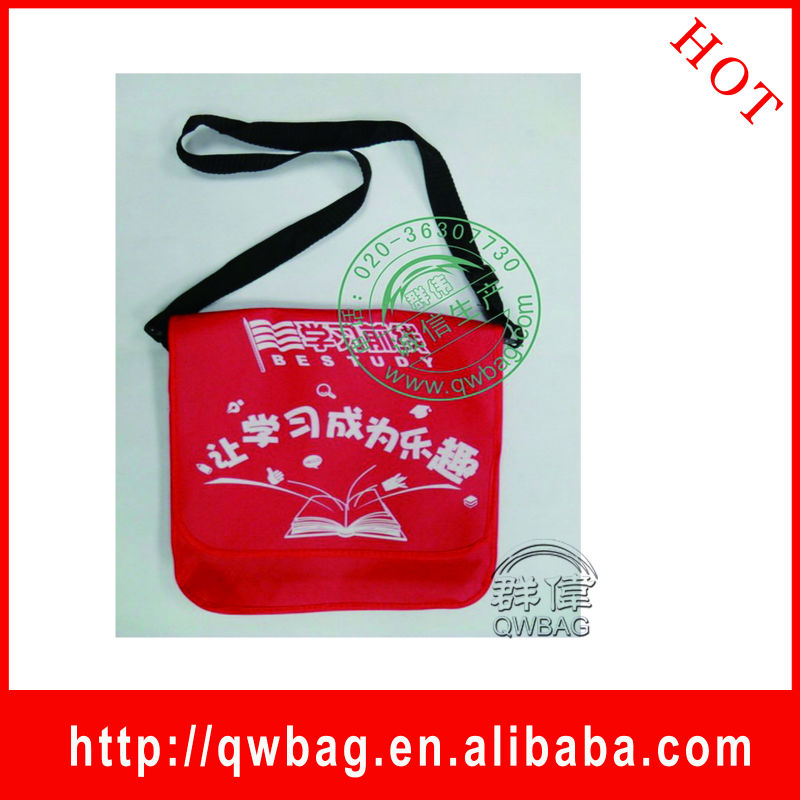 Promotional brand child bag, child school bags in good design and low price
