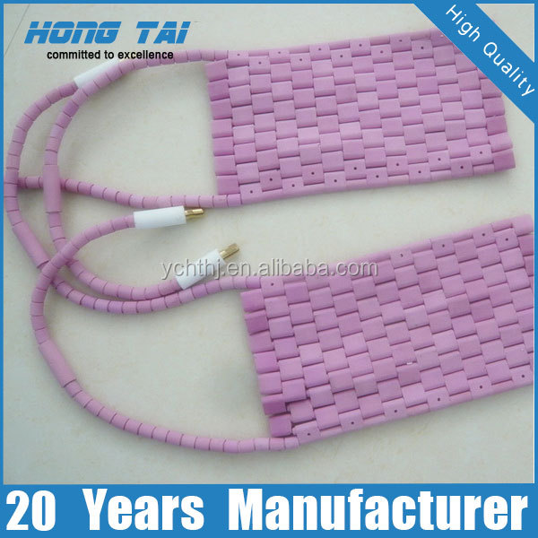 post welding heat treatment electric flexible ceramic pad heater