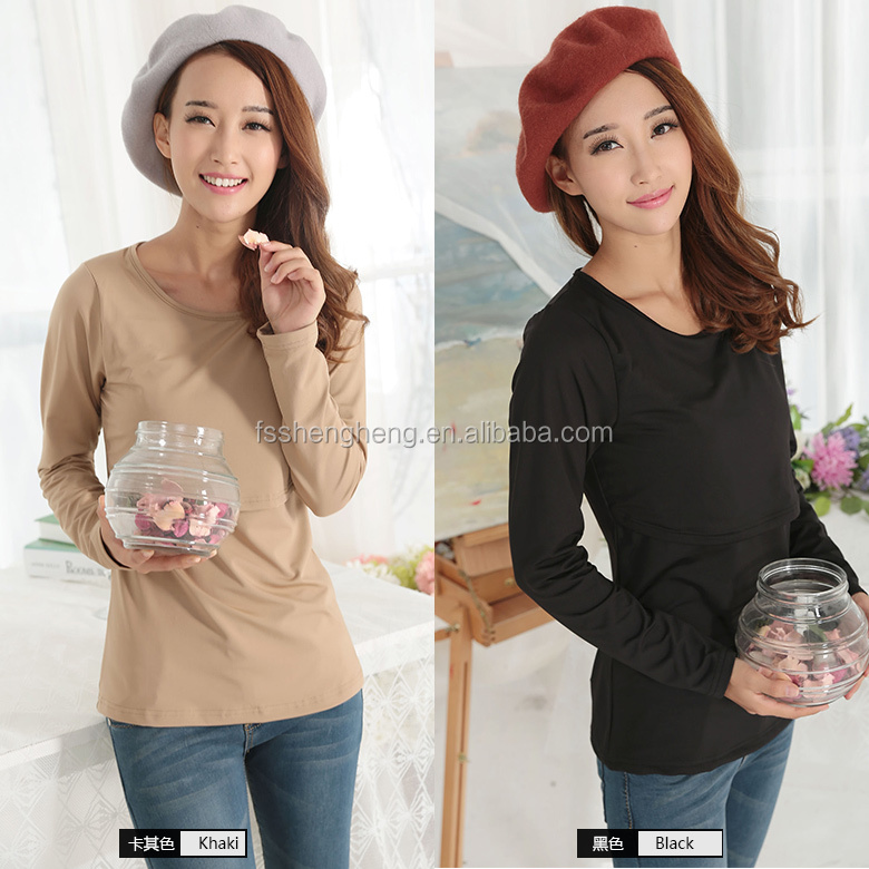 2016 good sale cotton tshirt maternity