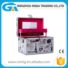 Wholesale Professional Aluminum Beauty Hard Cosmetic Case for Storage