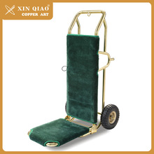Efficient logistic service hotel luggage trolleys